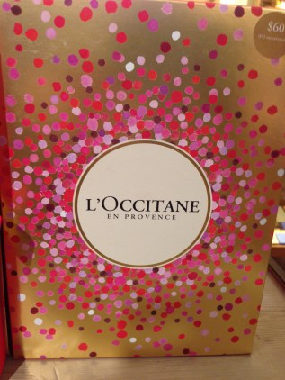 Gift Shopping L'Occitane