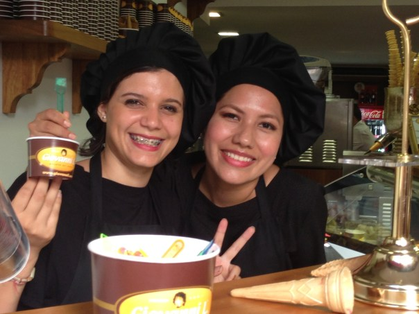 Gelato Girls Passeig del Born Palma de Mallorca Copyright Shelagh Donnelly