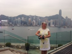 Shelagh travels the globe