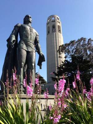 Coit Tower 1069 Copyright Shelagh Donnelly