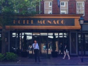 Hotel Monaco Alexandria Streetside Copyright Shelagh Donnelly