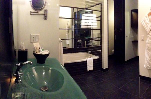 Le Germain Hotel Quebec Bathroom 6306 Copyright Shelagh Donnelly