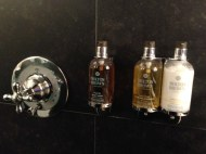 Le Germain Hotel Quebec Molton & Brown Toiletries Copyright Shelagh Donnelly