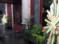 Le Hotel Germain Patio Copyright Shelagh Donnelly