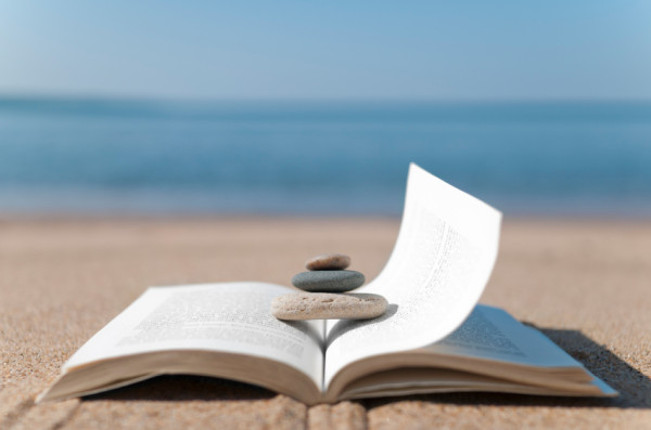 Reading at the Beach
