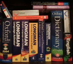 Bookshelf - Dictionary, etc