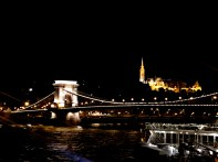 Chain Bridge, Castle Budapest 17-6580 Copyright Shelagh Donnelly