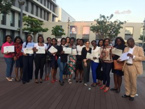 Paula's Angola Students