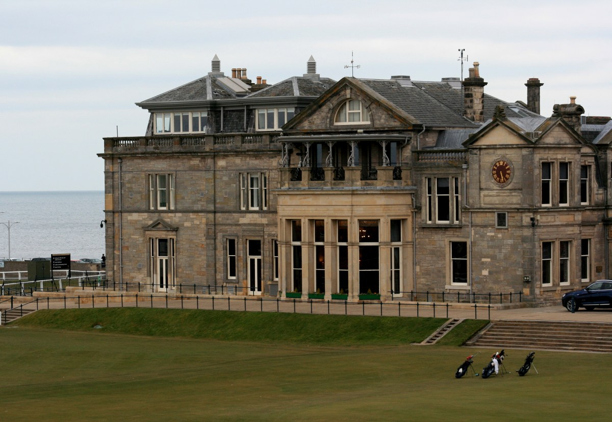 St. Andrews Wasn't Wasted on this Non-Golfer