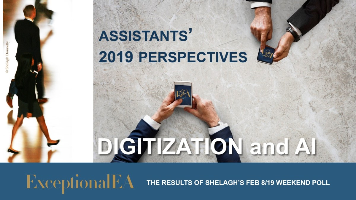 Weekend Poll Results: How Assistants Really Feel About Digitization and AI