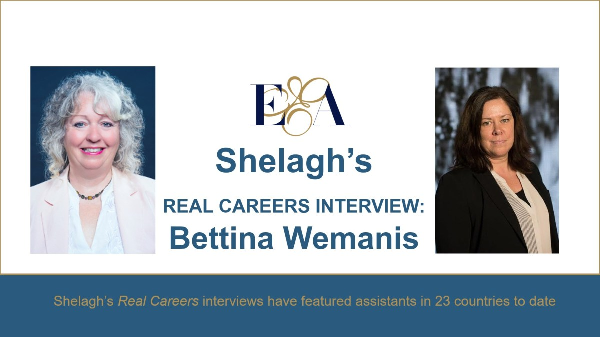 Real Careers: Bettina Wemanis