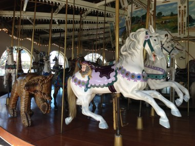 Seaport Village historic carousel