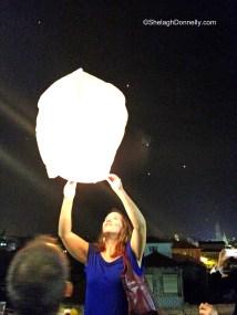 Porto Festival Lights Copyright Shelagh Donnelly