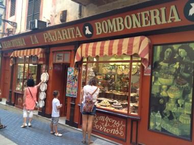 Le Pajarita Bomboneria & Charcuteria Palma De Mallorca 2585 Copyright Shelagh Donnelly