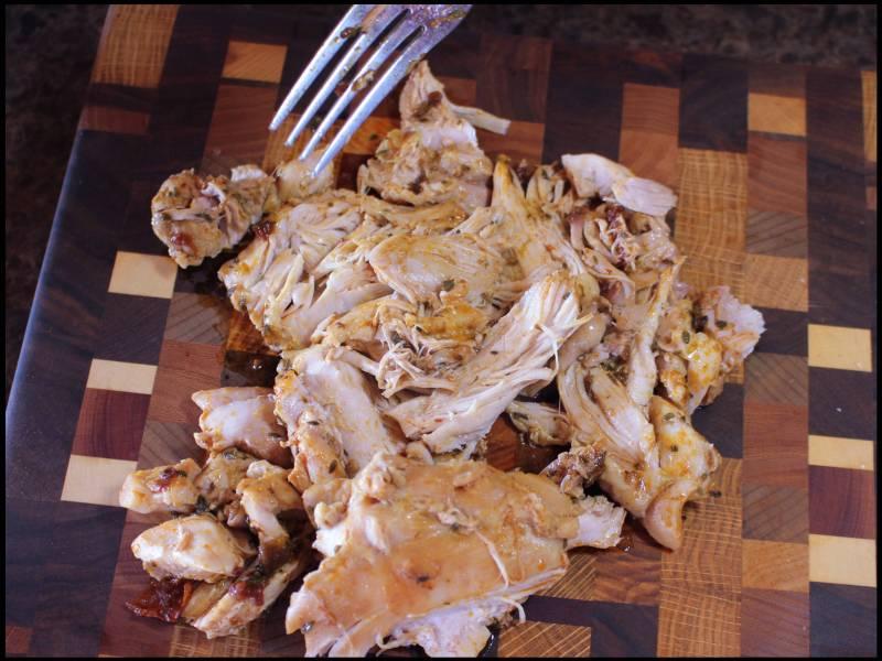 Chipotle shredded chicken