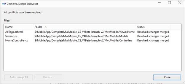 How to move pending code changes from one branch to another