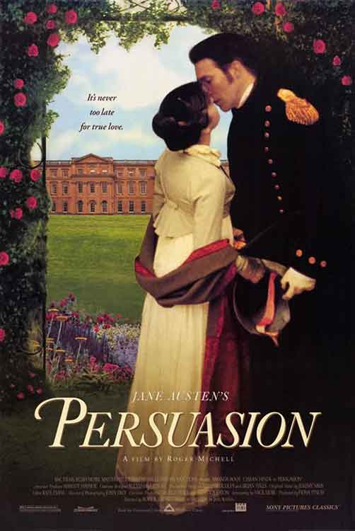 Poster for the 1995 version of Persuasion