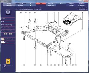 Renault Megane Perfohub Transplant  Parts Diagrams 1