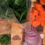 HelloFresh - Lamb Tagine Vegetable Prep