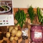 HelloFresh - Pepper Crusted Steak & Warm Potato Salad Ingredients