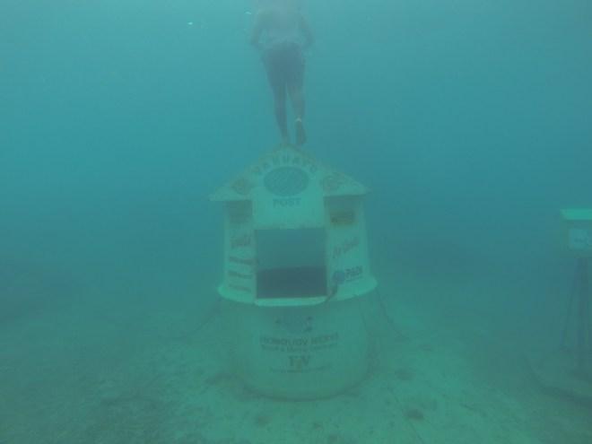 Underwater Postoffice Vanuatu