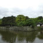 Approaching the Wakayama Castle grounds