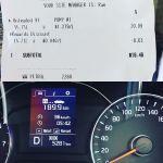 #HireCar fuel consumption.  8.3L/100km from the @kiaaustralia #Cerato auto. #driveitlikeyoustoleit obviously is not #economical  #Roadtrip #Travel #Instagood #InstaTravel #nocatsforaweek #igersrockhampton #VisitCapricorn #Kia #thriftycarrental