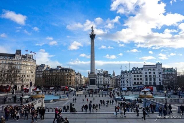 Trafalgar Square 特拉法加廣場