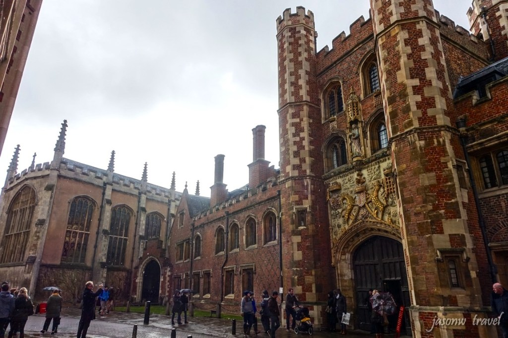 Cambridge St. John's College 劍橋聖約翰學院