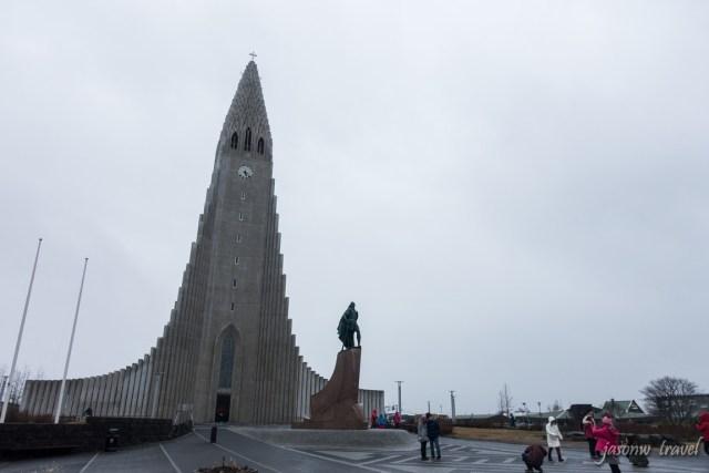 Reykjavík Hallgrímskirkja 冰島雷克雅未克哈爾格林姆教堂