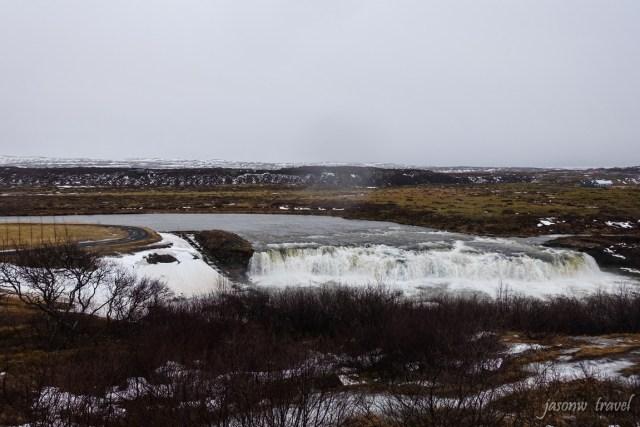 冰島Golden Circle金圈Faxi瀑布