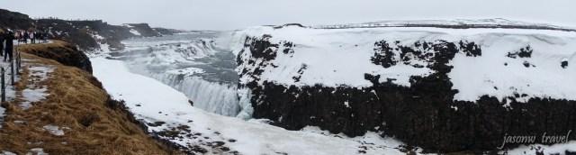 冰島Golden Circle金圈Gullfoss瀑布