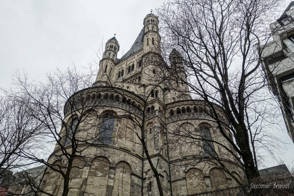 Gross Sankt Martin 科隆大聖瑪爾定教堂