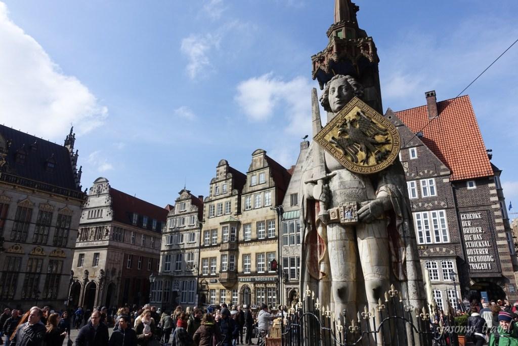 Bremen 不萊梅 Rolland statue 羅蘭雕像