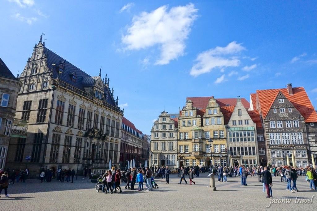 Marktplatz Bremen 不萊梅市集廣場