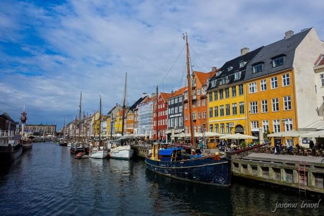 Copenhagen Nyhavn 哥本哈根新港