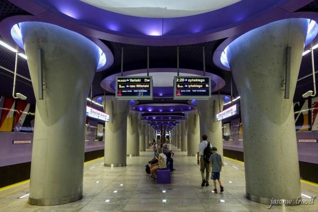 Warsaw Metro 波兰华沙地铁