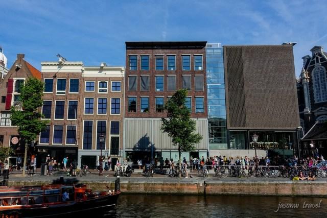 Amsterdam Anne Frank Huis 阿姆斯特丹安妮小屋