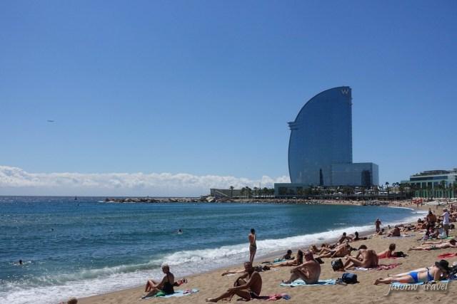 Barcelona Nude Beach 巴塞隆拿天體灘