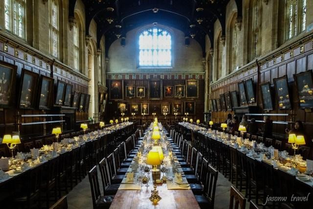 Oxford Dining Hall 牛津 哈利波特 霍格華茲 禮堂