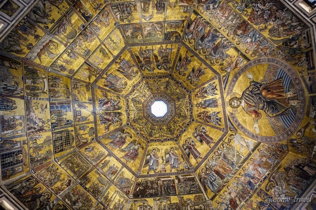 Florence Battistero di San Giovanni Inside 佛羅倫斯聖若望洗禮堂內部