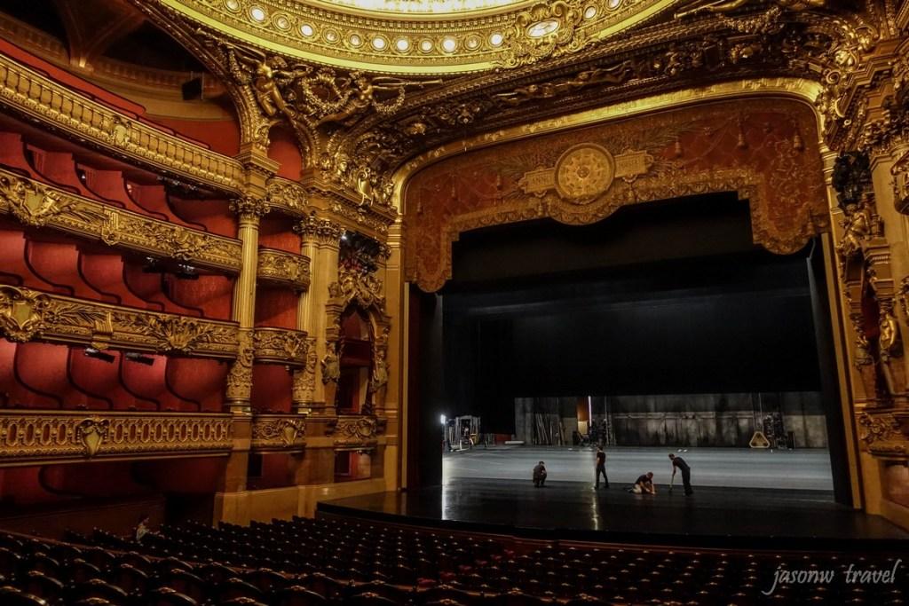 Palais Garnier Inside 巴黎歌劇院演奏廳