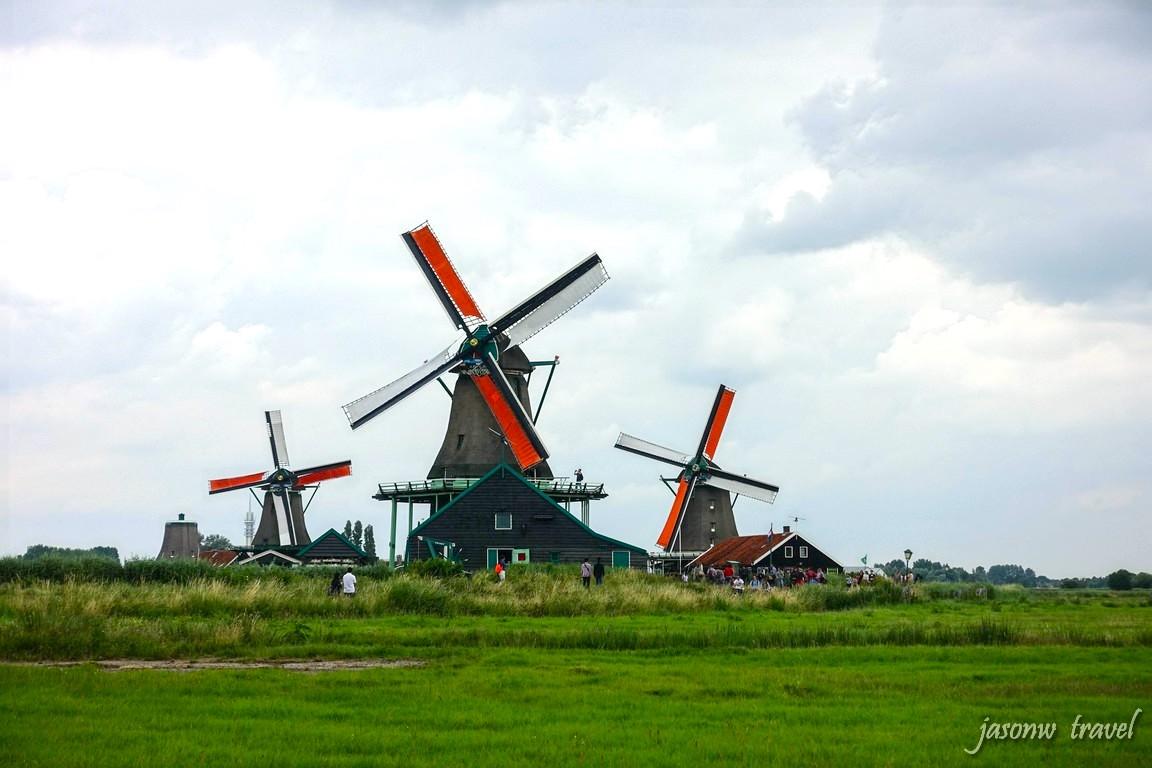 風車村Zaanse Schans桑斯安斯