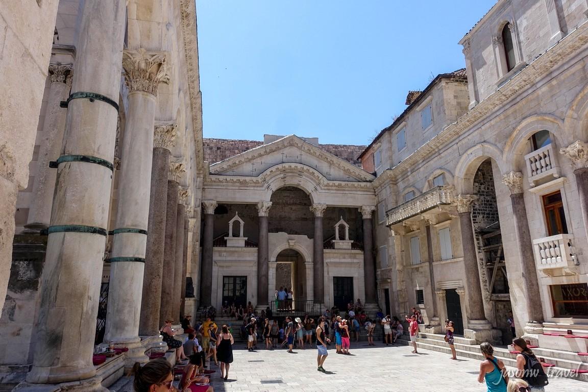 Split Dioklecijanova palača 施普利特戴克里先宮