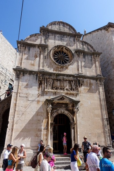 Dubrovnik Croatia Crkva sv. Spasa 克羅地亞 杜布羅夫尼克 聖薩維爾教堂