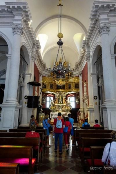 Dubrovnik Croatia Crkva svetog Vlaha Inside 克羅地亞 杜布羅夫尼克 聖布萊斯教堂內部