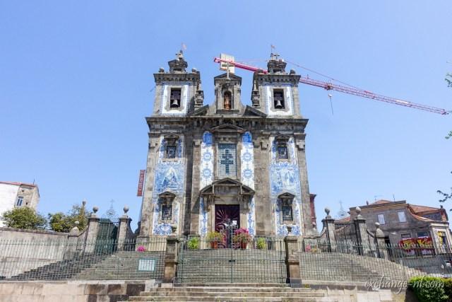 聖伊爾德豐索堂 Igreja Paroquial de Santo Ildefonso (Church of Saint Ildefonso)