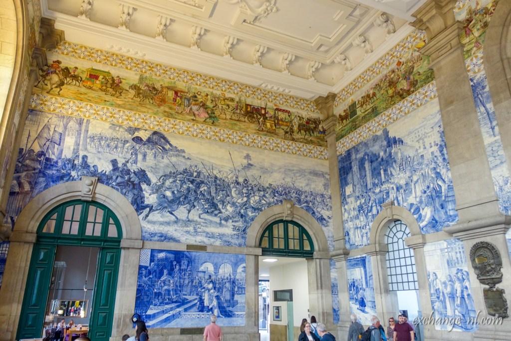 波圖聖本篤車站內部 Inside of São Bento, Porto