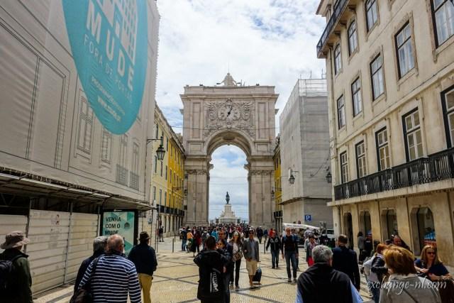 里斯本奧古斯塔街凱旋門 Arco da Rua Augusta (Rua Augusta Arch), Lisbon