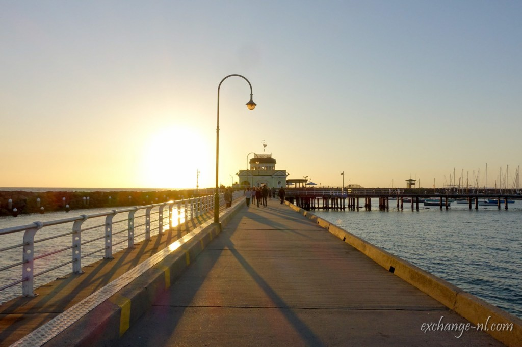 墨爾本聖科達碼頭日落 Sunset in St. Kilda Pier, Melbourne